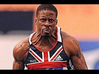 Jacked guy sprinting